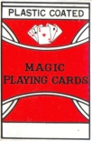 Marked cards magic trick