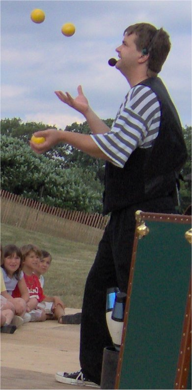 Magic and juggling in the London Ontario area