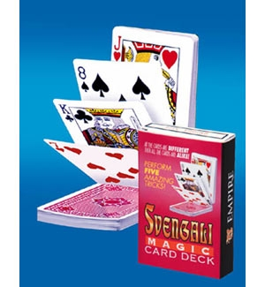 Svengali deck magic trick