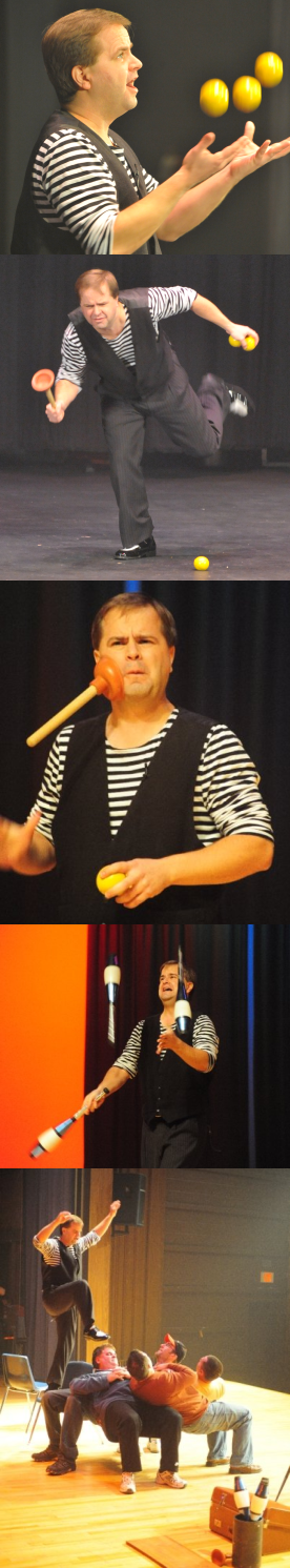 Unique juggling and magic shows across Ontario